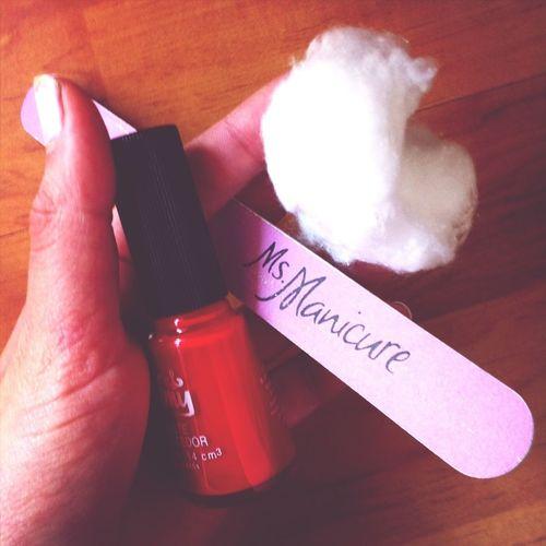 Ms. Manicure.