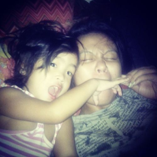Just woke up with Marga Love August12013 Harot