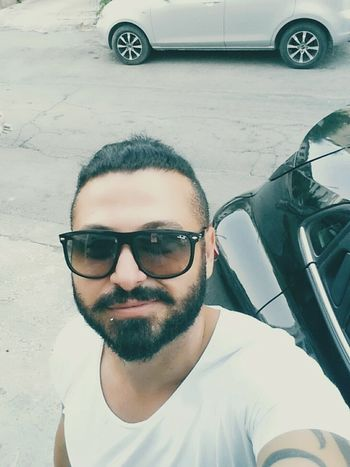 EyeEm Best Shots EyeEm Gallery EyeEmBestPics Sunny Sunny Day Happy Happy People Happy Time Cyprus Kıbrıs Selfie ✌ Selfi Street Streetphotography Famagusta Magusa Magosa Portrait Men Headshot Looking At Camera Young Men Car Smiling Front View Sunglasses Sky Parking