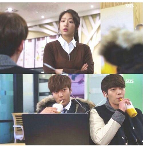 Lee Min Ho Park Shin Hye Kim Woo Bin The Heirs