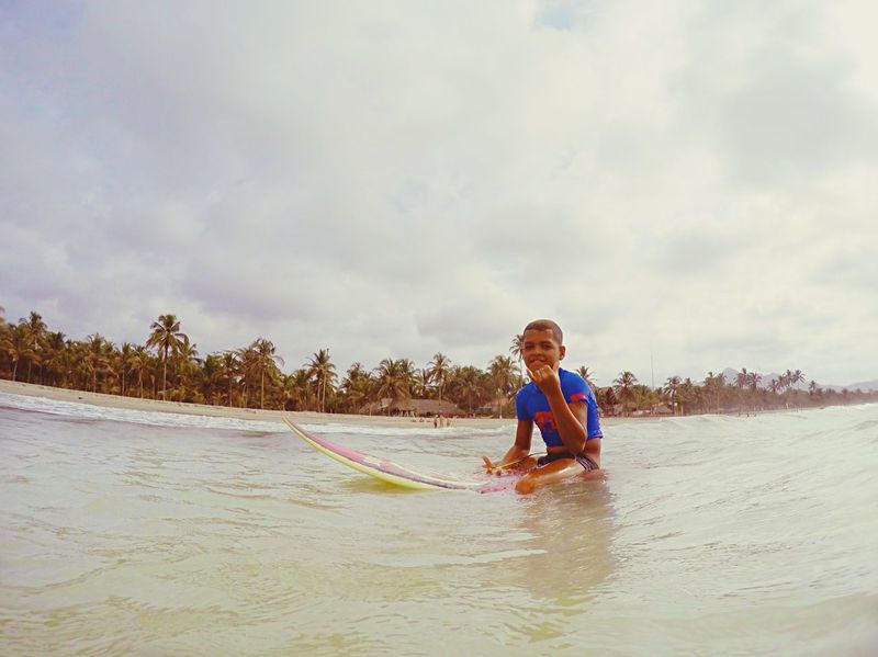 Surf's Up Summer Views Adventure Buddies Sea, smile and surf ! I've took this picture during my roadtrip in North Colombia, Palomino. sSports Photography eEnjoying Life CCheck This Out pPicoftheday sSurf Photography sSurfing bBeachphotography sSeaside TTraveling