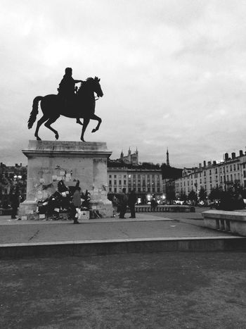 Lyon Hanging Out Blackandwhite Black & White Hello World Taking Photos Clouds Vscocam