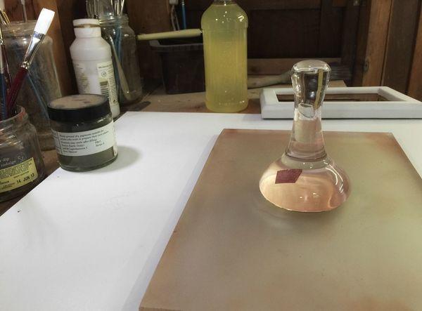 Glass Muller & Grinding Plate