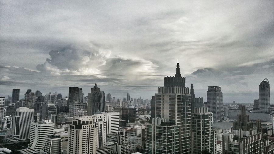 Skyline Bangkok Thailand Hello World