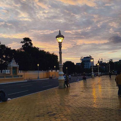 Cambodia Sunset