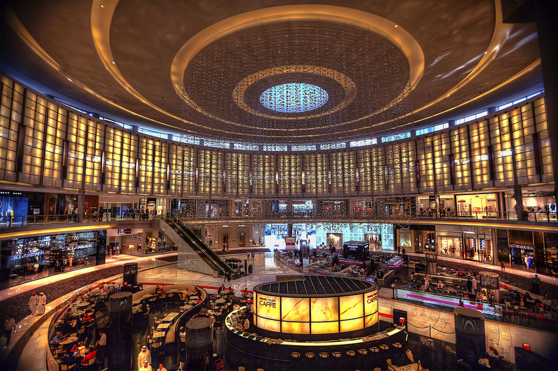 Abundance Armani Cafe Ceiling Choice Circle City City Life Design Dubai Full Frame Geometric Shape Illumination Indoors  International Landmark Large Group Of Objects Metal Ornate Pattern Repetition Retail  Spiral The Dubai Mall UAE United Arab Emirates Variation