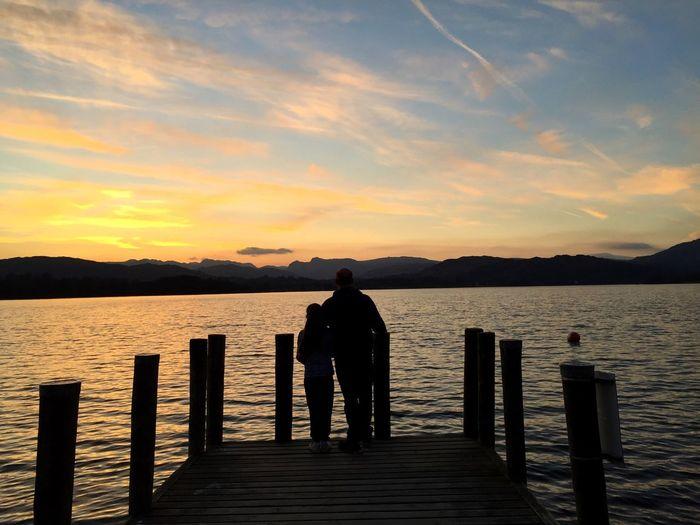 Lake Sunset The Lake District