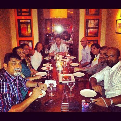 B's birthday dinner Ashas Wafi