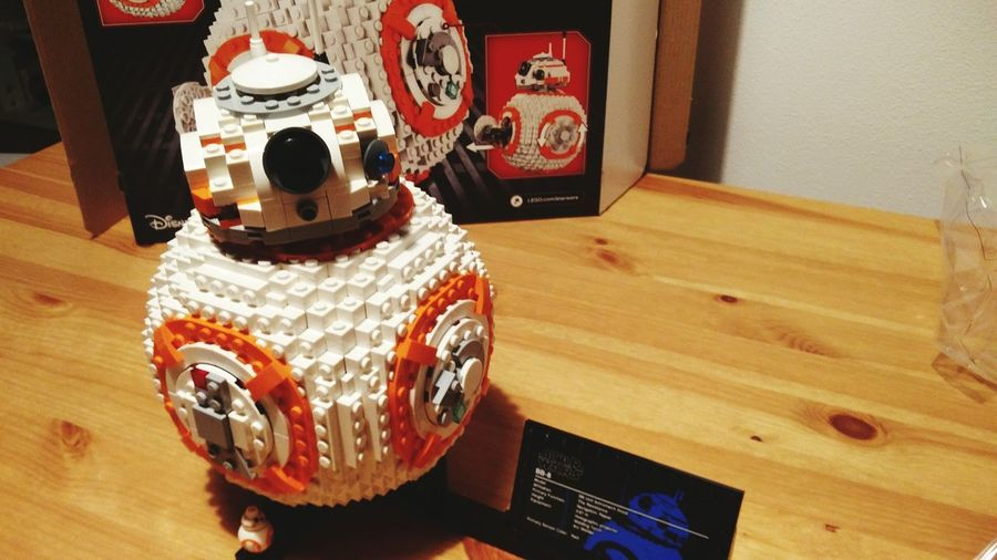finito Bb8 LEGO Star Wars