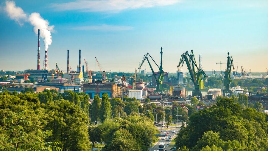 Shipyard in