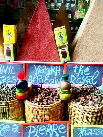 IPhoneography Morocco Market Outdoors Spices Newbie Vintage Retail  For Sale
