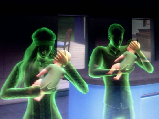 Ghasts in the sims 4? Sims