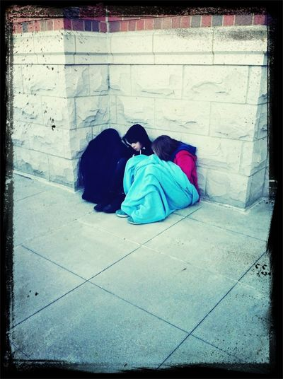 Homeless Kids At Winter Jam? Or Jaela, Reid And Greg?