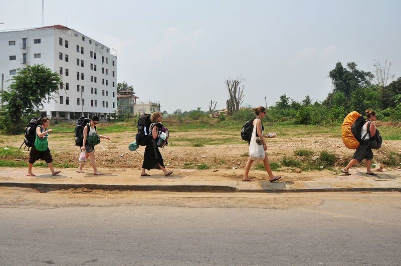 Ladies Street Photography Kanchanaburi Thailand from railstation to appartments Backpacking Backpacker Girls Walk This Way Walk The Street Backpack Spotted In Thailand Kleinecleo1000 The Street Photographer - 2016 EyeEm Awards The Following Women Around The World Long Goodbye Summer Exploratorium