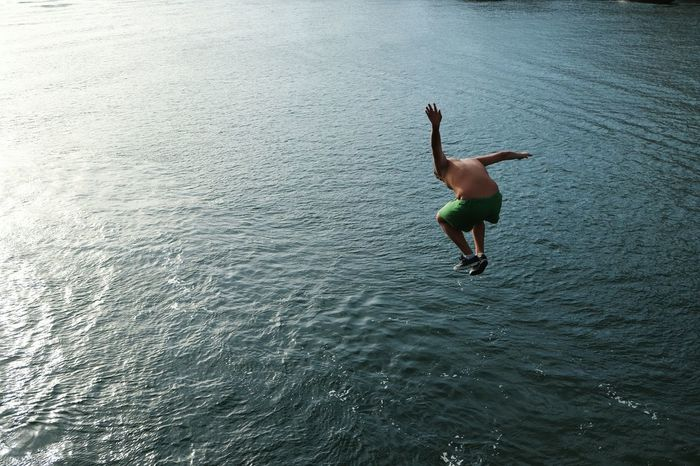 Jump into Water