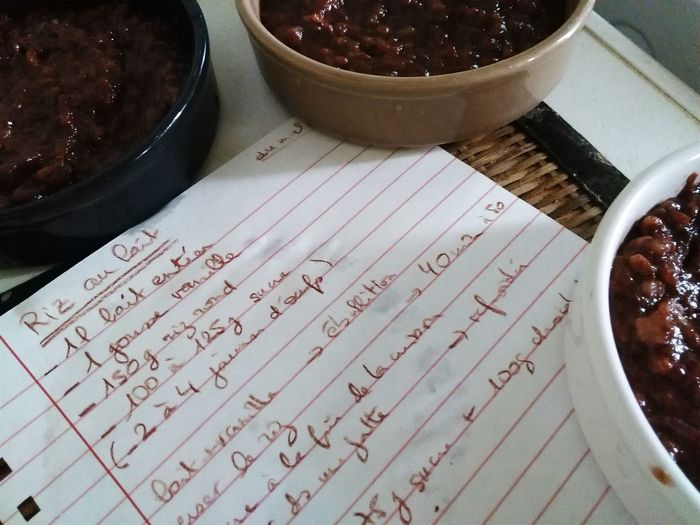 Riz au lait chocolaté Ricepudding Riz Chocolat Chocolate Close-up Recipe Recette Dessert Still Life Rizaulait Foodstyling Food Stories The Still Life Photographer - 2018 EyeEm Awards