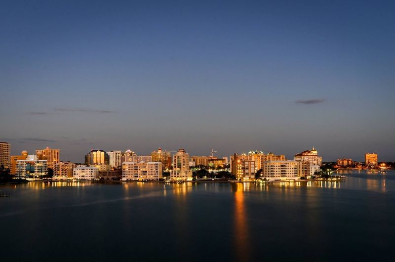 Florida Landscape Florida! Night Lights Sarasota