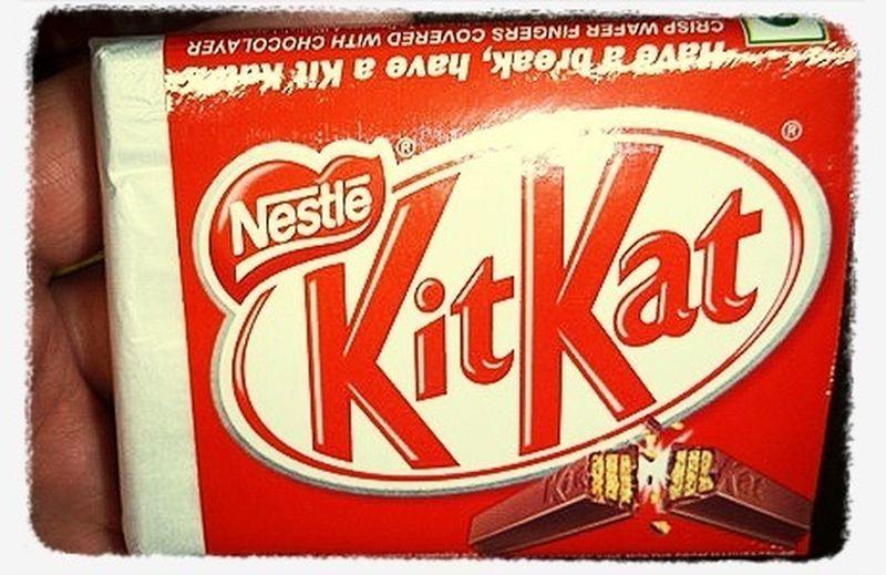 The original Kitkat Wrapping Childhood Memories