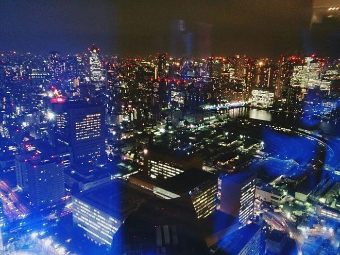Cities At Night Japan Tokyo Hello World The Big City 汐留 Night View Skyscraper EyeEm Best Shots Eye4photography  Light And Shadow
