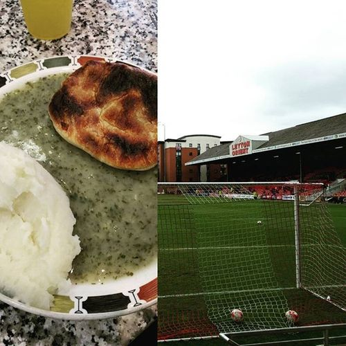 Proper East London day out - Robins Pie & Mash and the Orient-Daggers derby. Eastlondon E10 E11 Leyton Wanstead Football Pieandmash Mash Liquor Pie