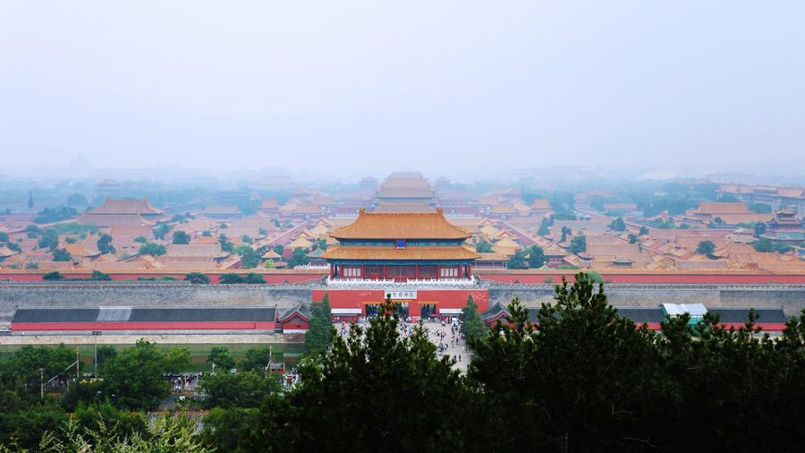 The forbidden city. Power center of ancient China. Architecture Cultures Emperor Power Center