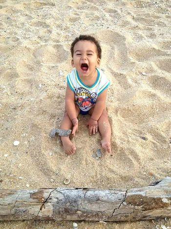 Meu sorriso favorito My Baby Boy MyWorld ♡ Smile❤ Summer Beach First Eyeem Photo