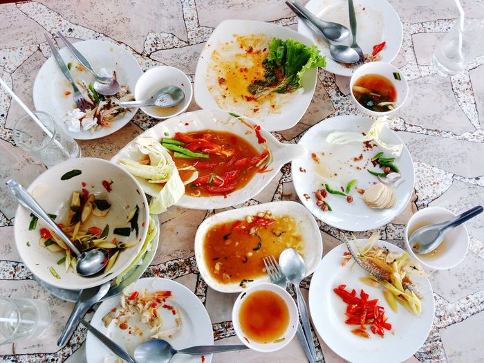 Be full Plate Bowl Directly Above High Angle View Table Egg Yolk Close-up Food And Drink Eaten Butter Knife Butter Knife Butter Knife Noodles Prepared Food Prepared Food Eating Utensil Noodle Soup Noodle Soup Empty Plate Spaghetti Fork Leftovers