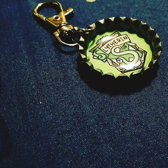 Slytherin Key Chain. Harrypotter Slytherin Pride