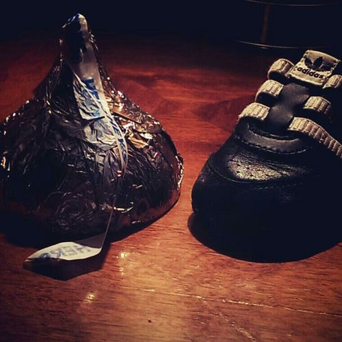 The biggest kiss I've ever seen. I almost don't even want to eat it. Hersheyskisses Chocolate♡ YumYum