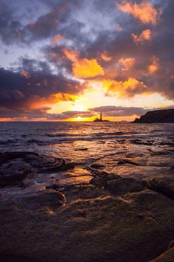 Sunrise Stmarys Whitley Bay Landscape Photography