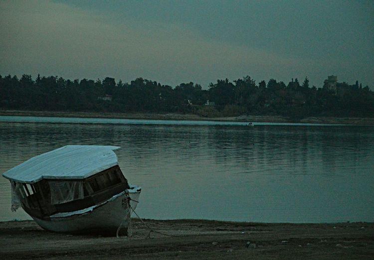 First Eyeem Photo Alone Ship Ship Lake Adana Turkey EyeEm Gallery EyeEm Best Shots Nikon D3200 Nature
