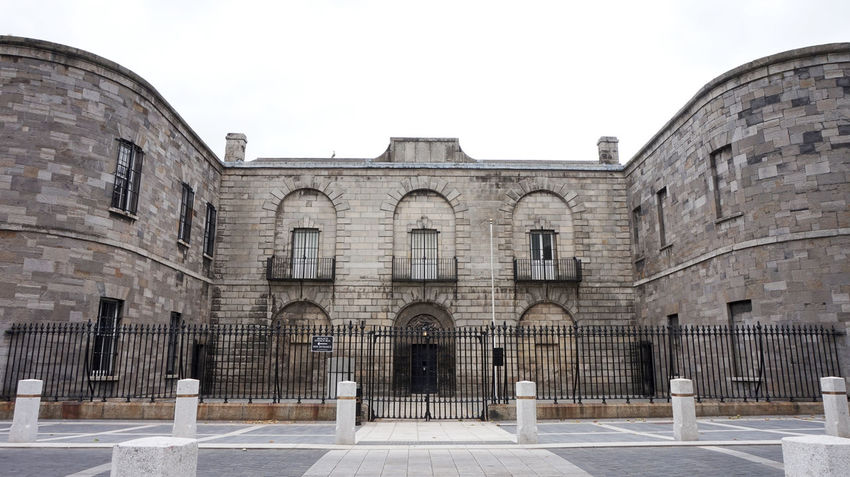 Kilmainham Gaol Old Town Architecture Brick Structure Building Exterior Built Structure Day History No People Old Buildings Outdoors Prison Travel Destinations