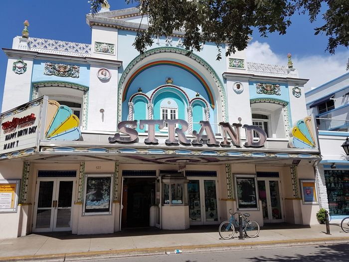 Theatre Old Buildings Key West Duval St.