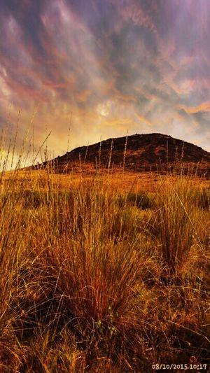 Mountain , field , beautiful, sky