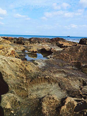 Magusa Gazi Mağusa Famagusta Cyprus Northern Cyprus Aegean Sea February Beatiful Volcanic Landscape