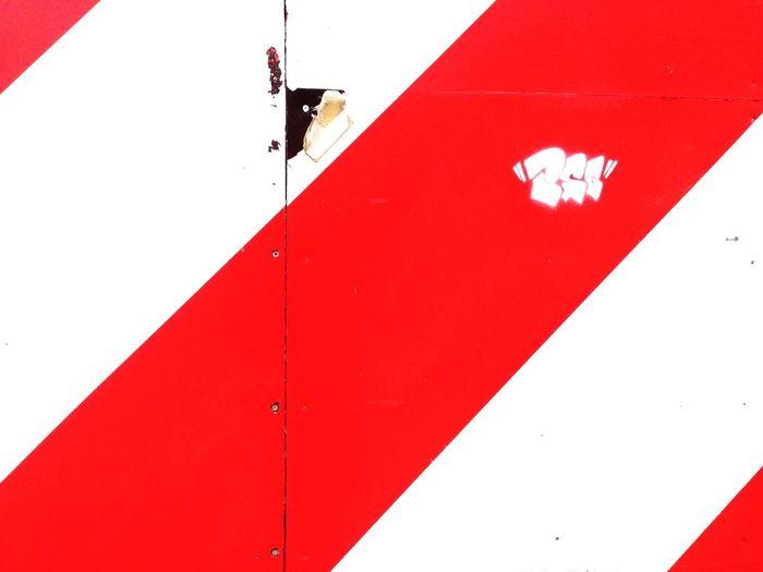 Red UrbanART Graphic Design Design Leipzig Geometry Urban Geometry Colors Red Signal Pattern