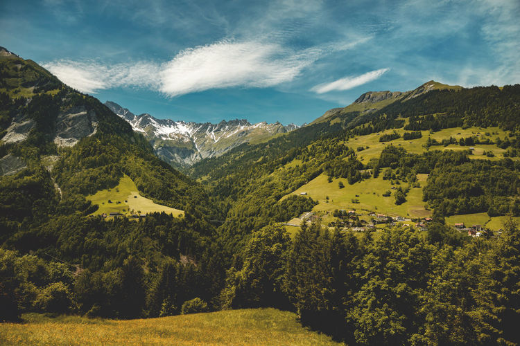 Switzerland Alm Alpine Quiet Places Relaxing Schweiz Suisse  Titlis,Switzerland Tranquility Alps Alps Switzerland Calfeisental Countryside Engelberg Forest Landscape Mountain Village Mountains Mountains And Sky Peaceful Scenics Swiss Swiss Mountains Switzerland Tranquil Scene Valley