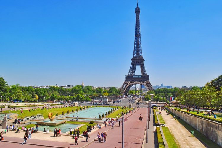 Paris France Eiffel Tower Tower French Culture Tourism Architecture Symbol Traveling