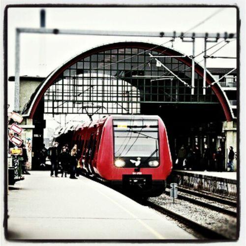 Train Station Norrebro Copenhagen denmark