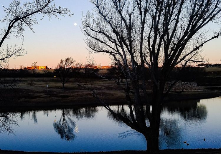 A cold, but calm, morning in Amarillo, Texas. PhonePhotography