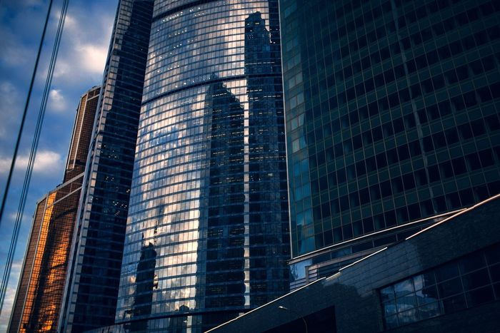 Moscow City Yann Alain Victor French Photographer Business Center Architecture First Eyeem Photo