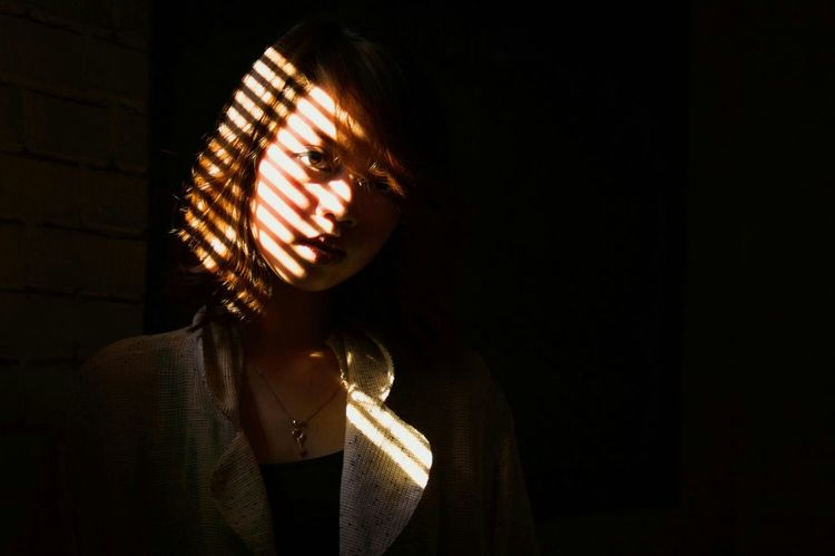 EyeEmBestPics First Eyeem Photo Portrait Cutegirl Asian  Eyeem Philippines Portrait Photography EyeEm Gallery The Moment - 2015 EyeEm Awards Shadows & Lights Shadowplay Womenportrait