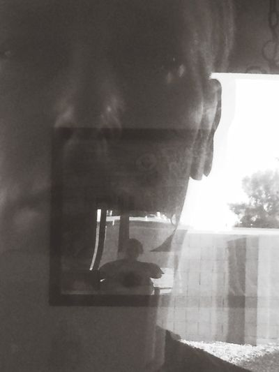Accidental photo Image Face Reflection Outside Looking In My House Selfie Selfie Portrait Thats Me  Looking Backatmyself Picturing Individuality IPhoneography What Are YOU Looking At?