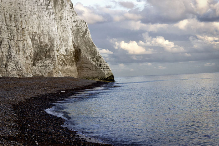 Beach Beauty In Nature Blue Sea Canon600D Cliff Cloud - Sky Day East Sussex Horizon Over Water Nature Nature No People Outdoors Sand Scenics Sea Seven Sisters Seven Sisters Cliffs Seven Sisters Country Park Sky Tranquil Scene Tranquility United Kingdom Water White Cliffs