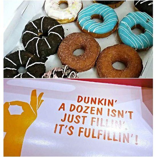 for our dearest fernanda who turns 12 tomorrow - 12 Yummy Yummy donuts!!!