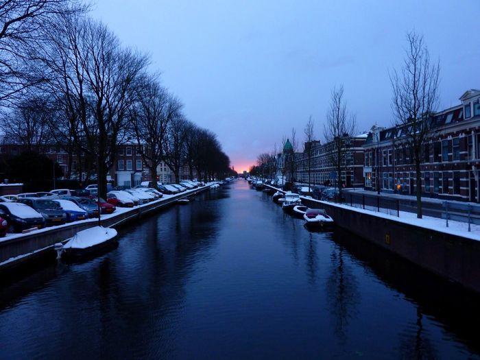 Sunset Haarlem