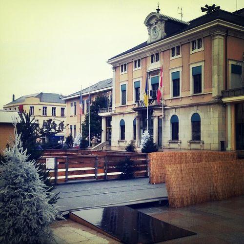 Annemasse Haute-Savoie  Place de l'hôtel de ville