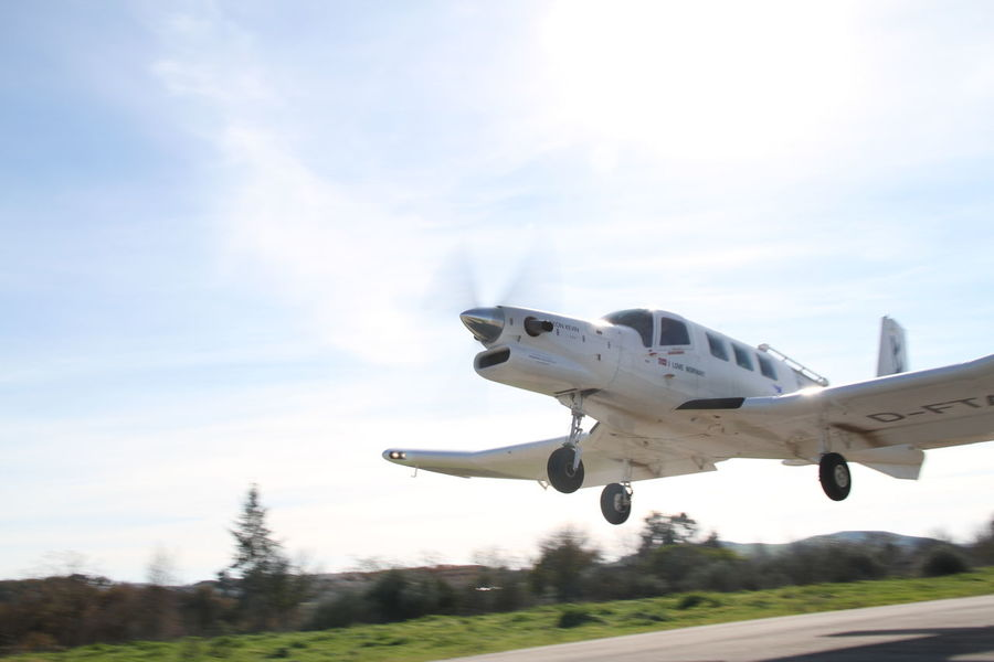 Air Vehicle Airplane Day Flying No People Outdoors PAC 750 XL Propeller Airplane Sky Sunny Day Take Off