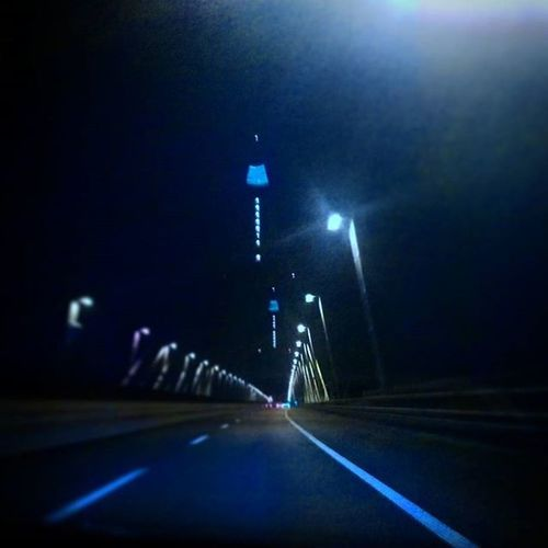 Megyerihid Megyeri Bridge Budapest Ilovebudapest Budapestbynight Ontheroad