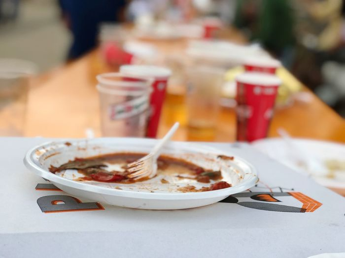 Party is over EyeEm Selects Food And Drink Food Ready-to-eat Plate Table Food Stories Meal Close-up No People Day Serving Size Focus On Foreground The Still Life Photographer - 2018 EyeEm Awards